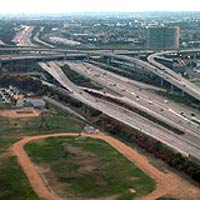 freeways from above