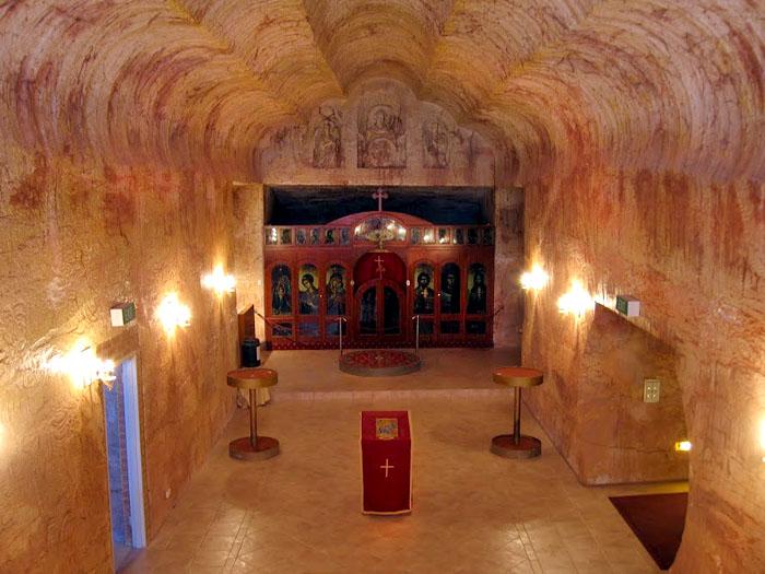 Coober Pedy underground church