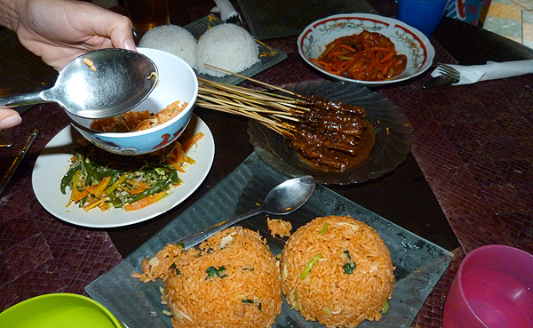bali home cooked meal