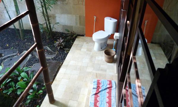 open bali bathroom