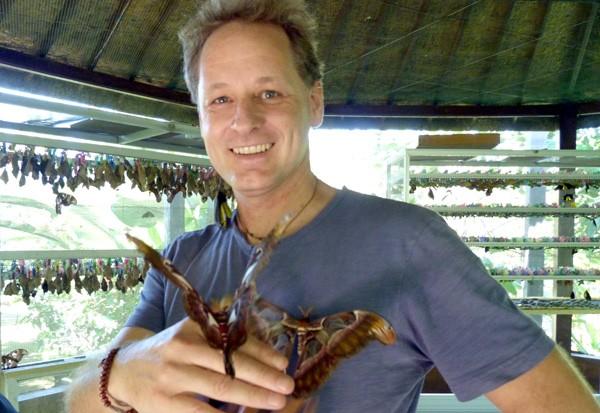 Even Rob loves butterflies