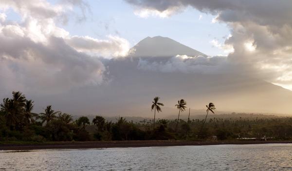 Mt Agung Sunset