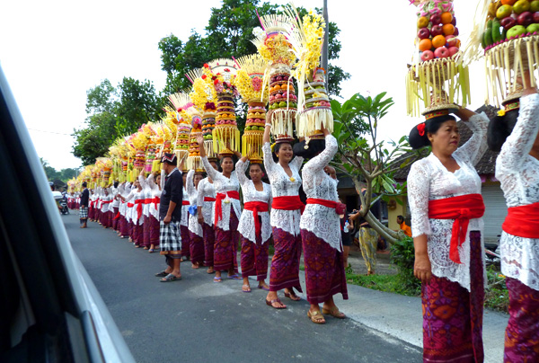 Ceremony procession