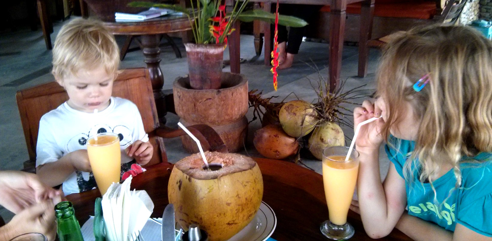 drinks in Bali