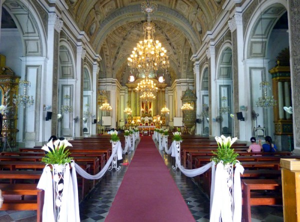 St Augustin Church in Manila Philippines