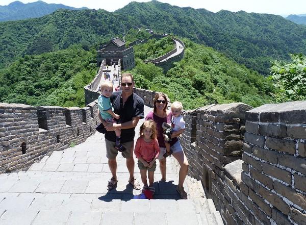 Wall Family Shot
