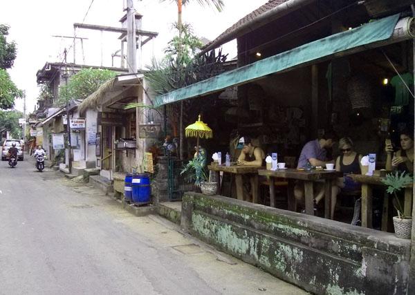 Jalan Goutama in Ubud