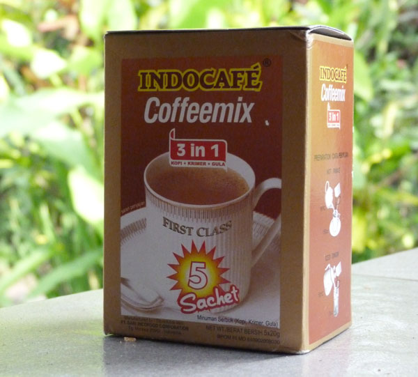 instant bali coffee
