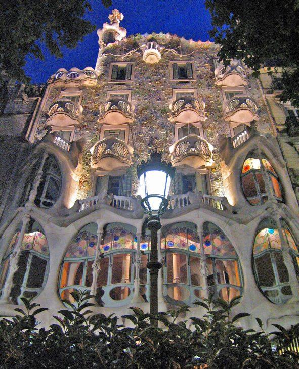 Casa Batllo or La Pedrera, Barcelona, Spain