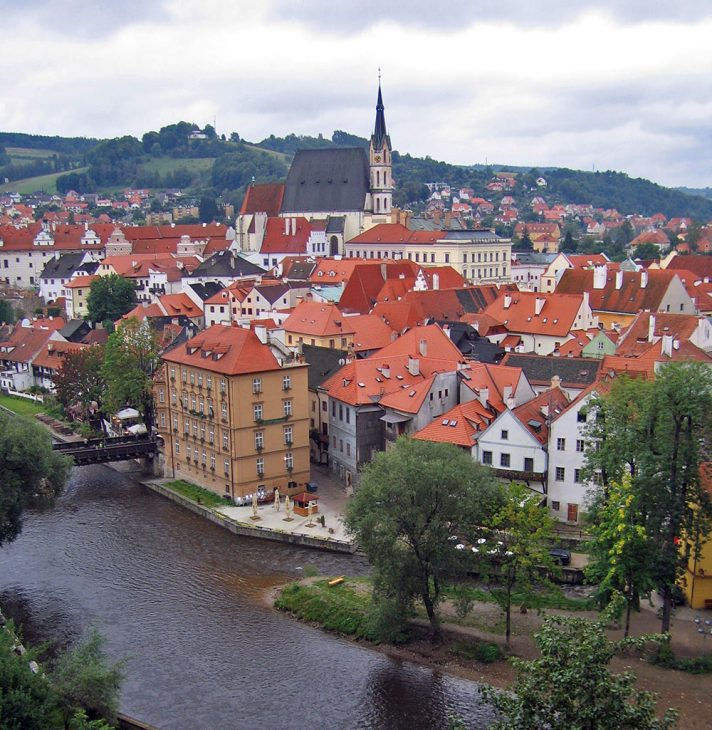 Cesky Kromlov Czech Republic