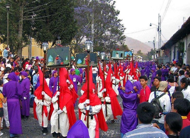 Easter Celebration in Antigua Guatemala