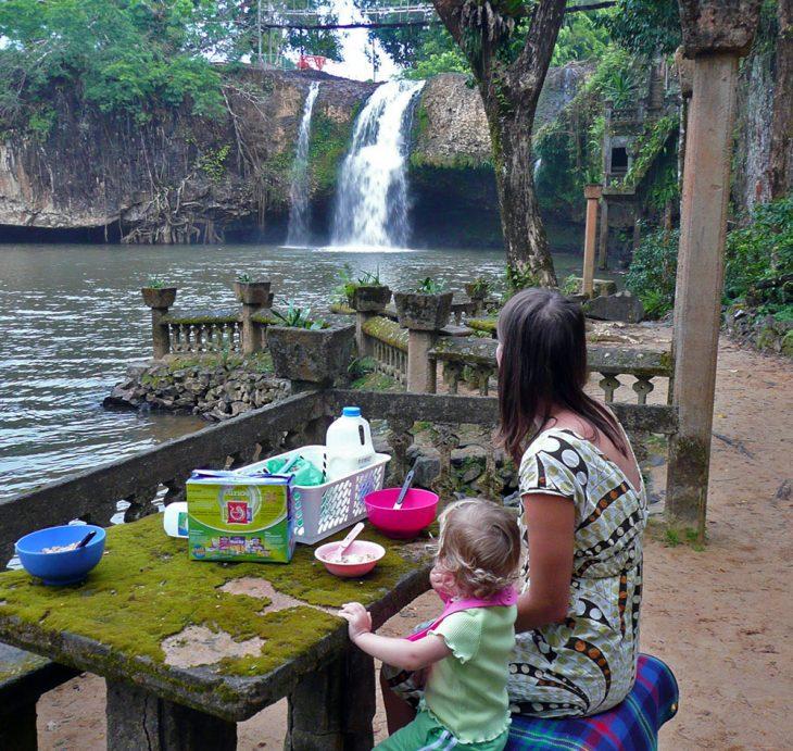 Mena Creek Falls at Paronella Park