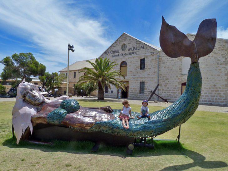 WA Shipwrecks Museum in Fremantle