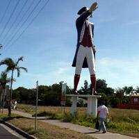 the Big Captain Cook in Cairns Queensland