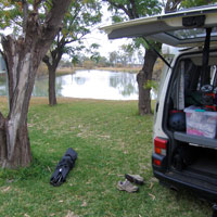 Mildura Billabong camping