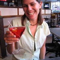 Drinking a Manhattan in Cosmopolitan or Martini