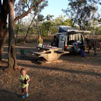 Campsite at Kakadu