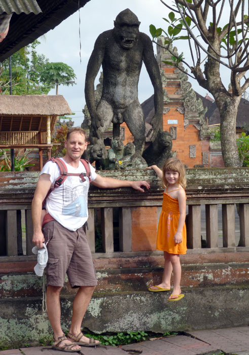 Monkey Forest visit