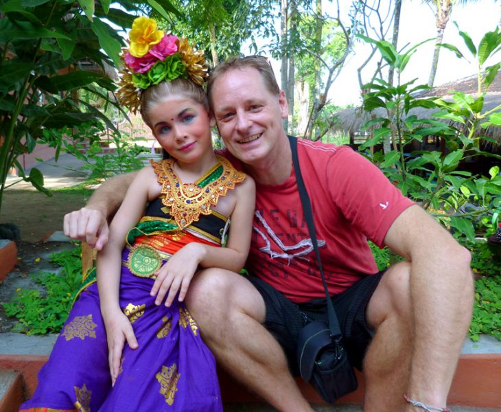 Stay long enough and you begin to turn Balinese