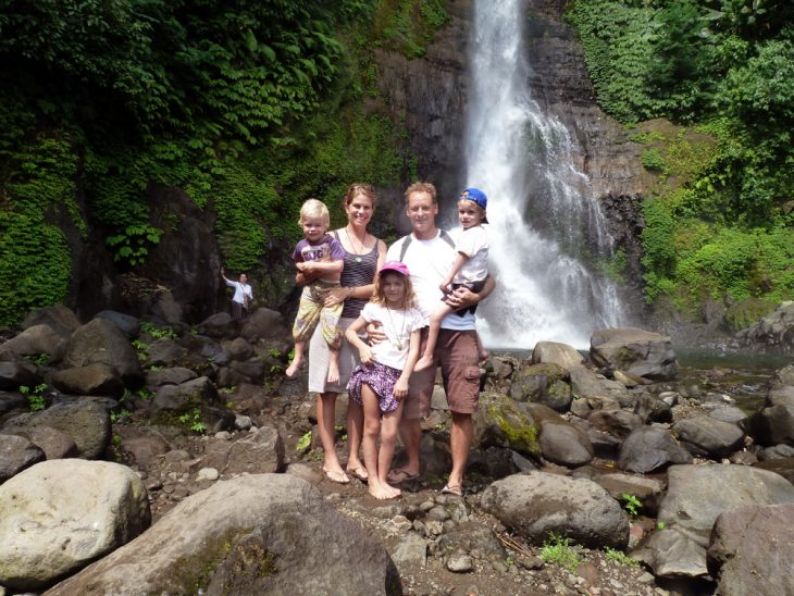 2014 Gitgit waterfall