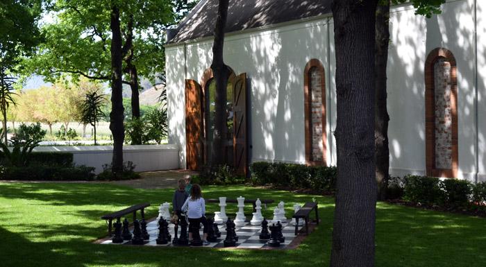 chess at la mottee