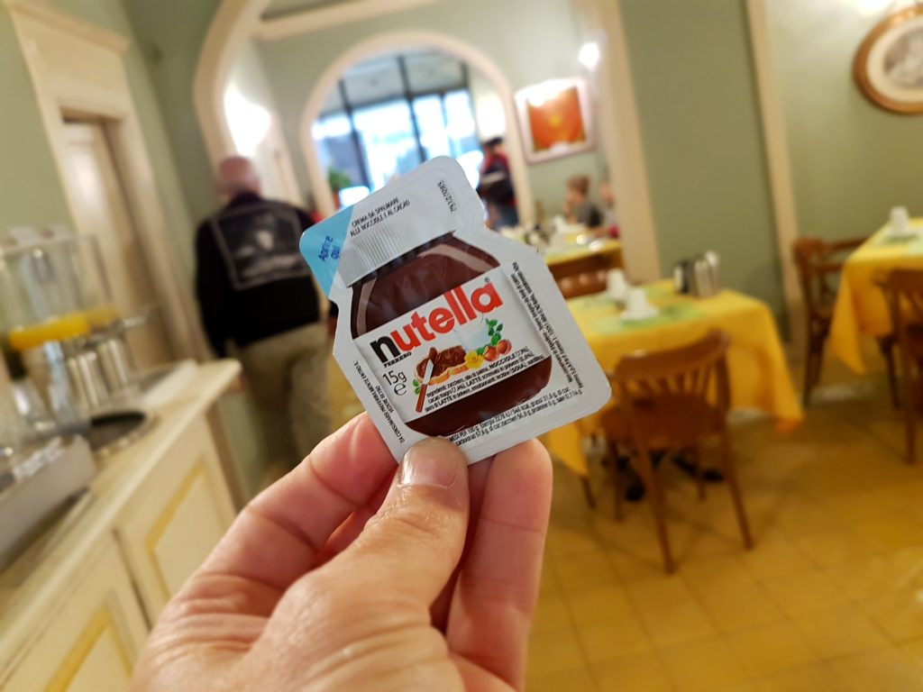 Nutella small pack