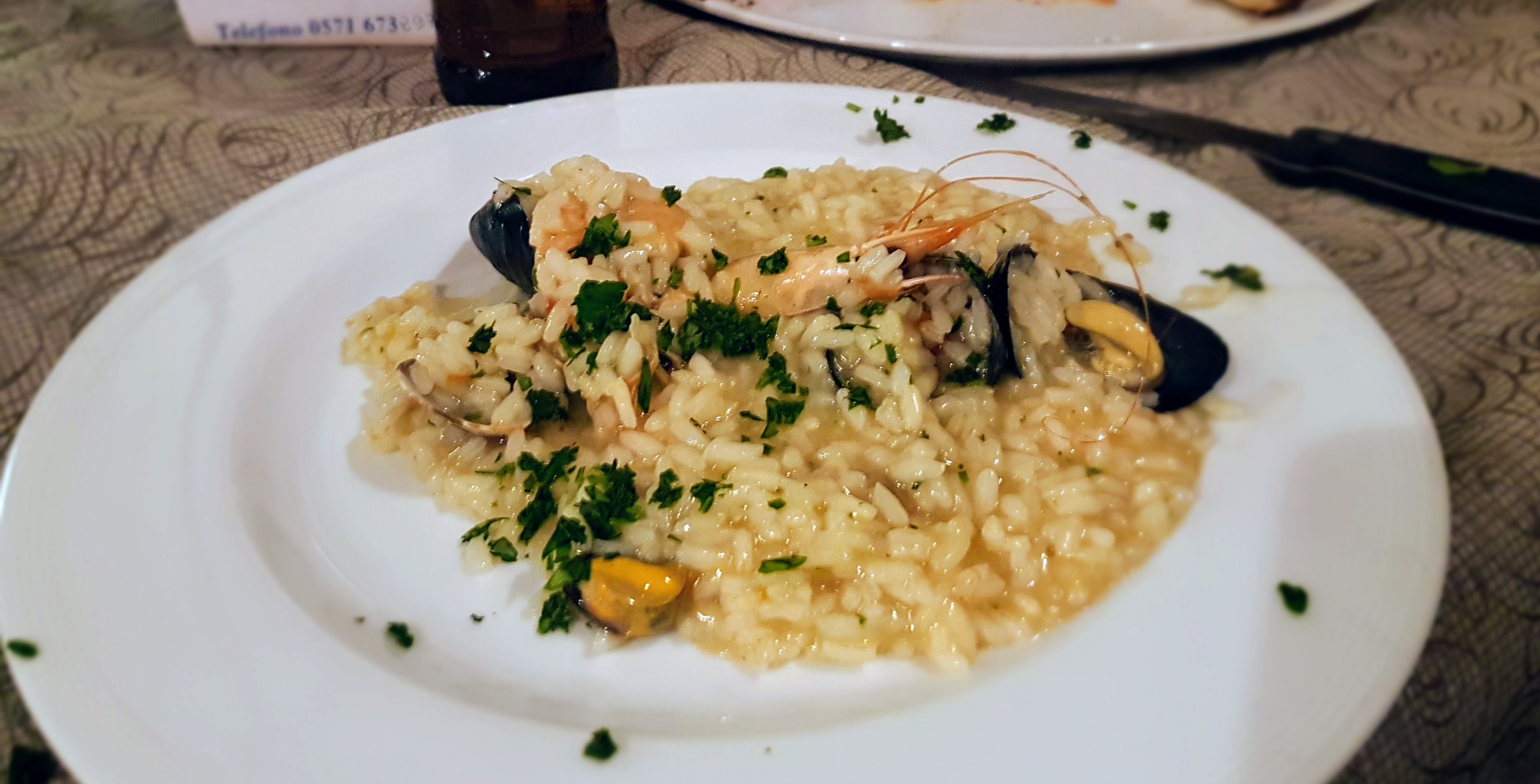 Seafood Risotto the Italian way