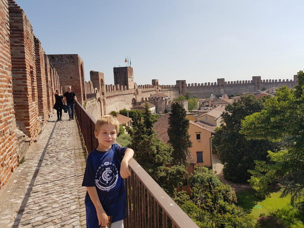 Cittadella fortress wall