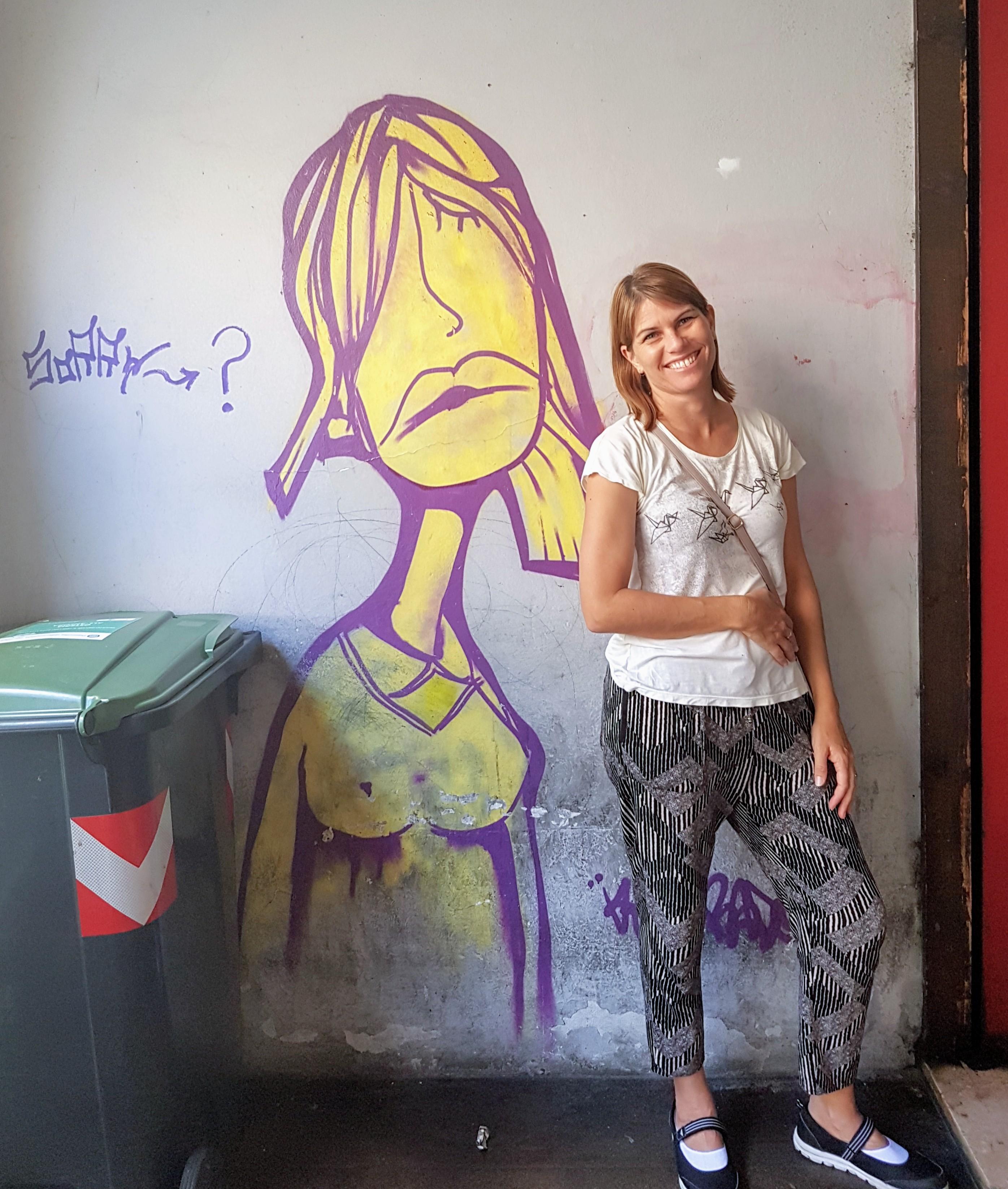 Depressed Kenny Random Graffiti in Padua
