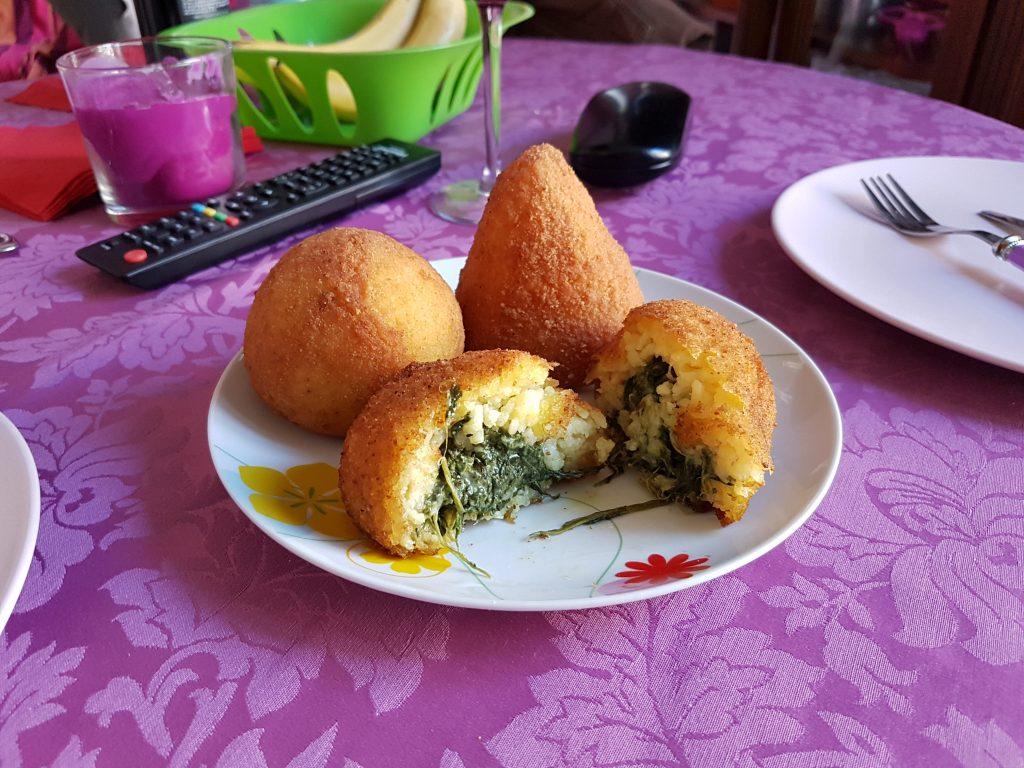 Italian aracini