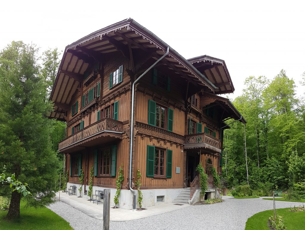 Traditional Swiss house in Ballenberg
