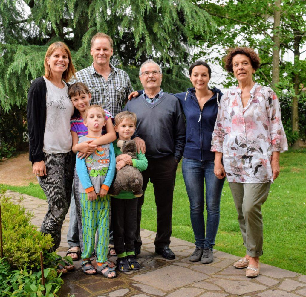 The Italian family