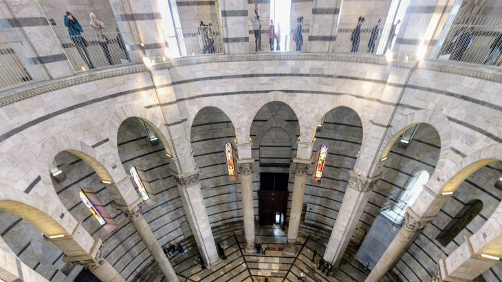 Pisa Romanesque Baptistery