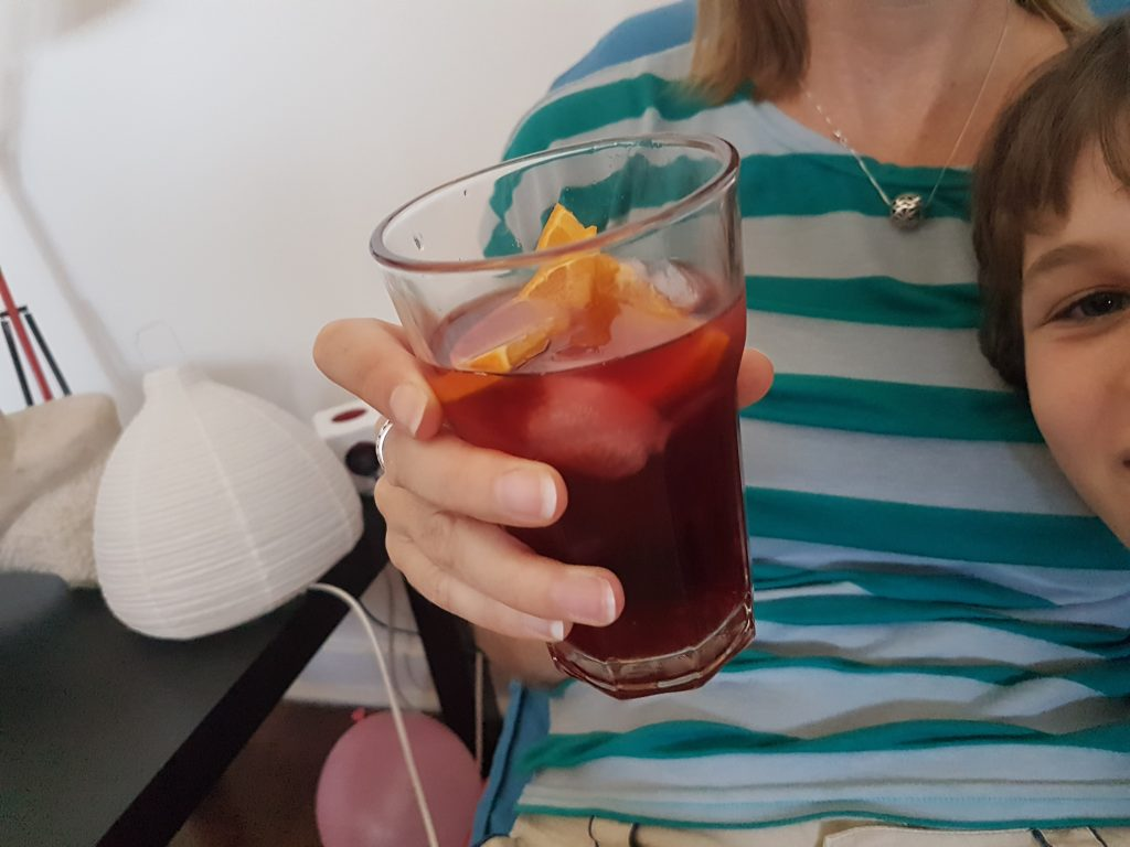 Perfect time for a Sangria