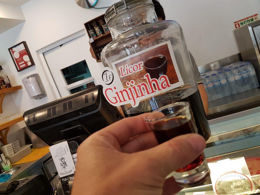 Ginjinha is a Portuguese liqueur