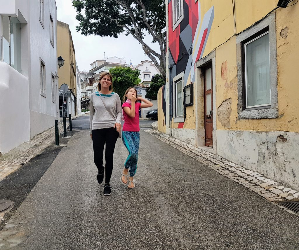 Walking the streets of Cascais