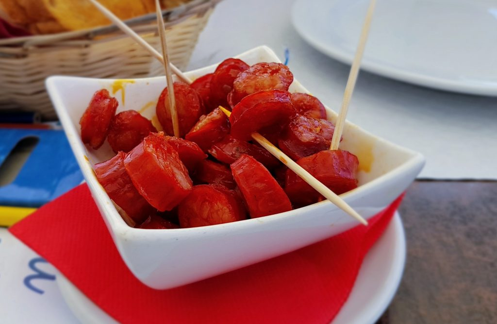 The Portuguese version of chorizo