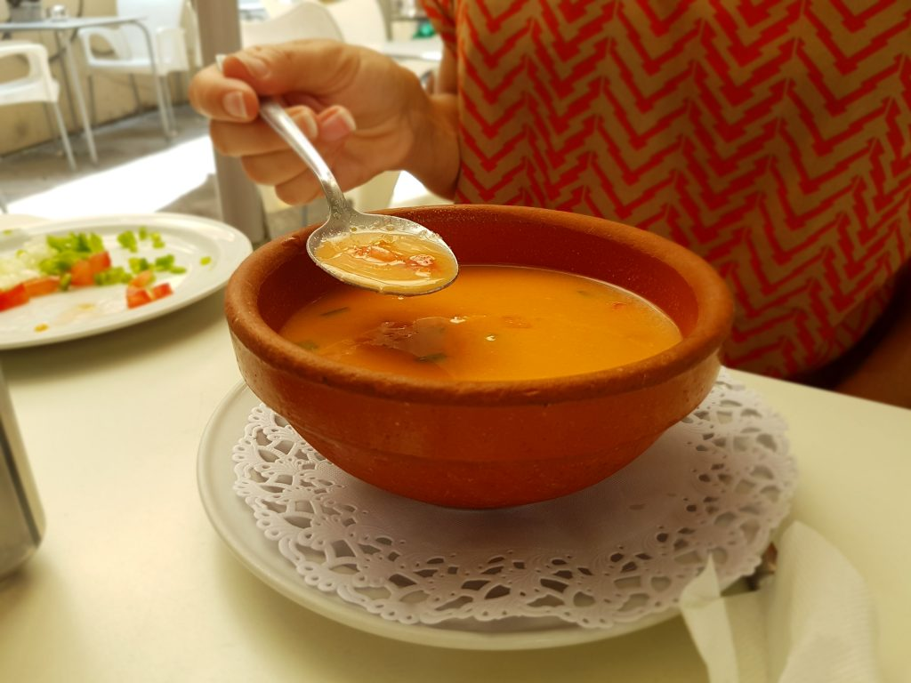 Gazpacho, Spanish cold tomato soup
