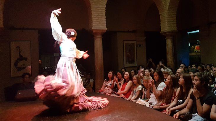 Flamenco dance in Seville