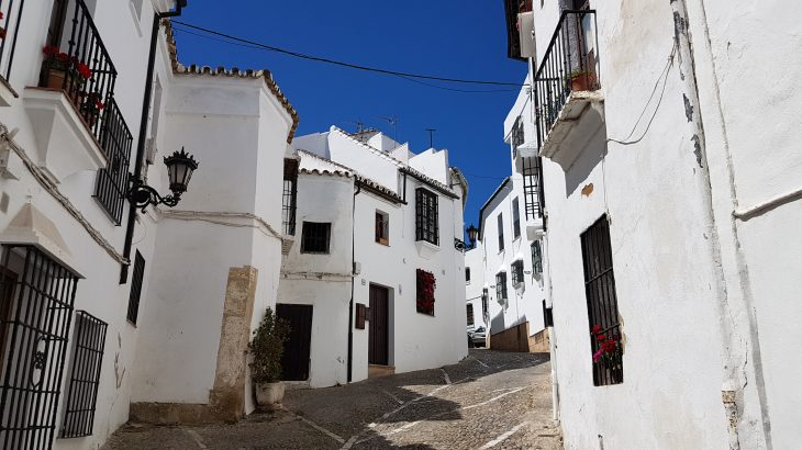 The white buildings of Ronda
