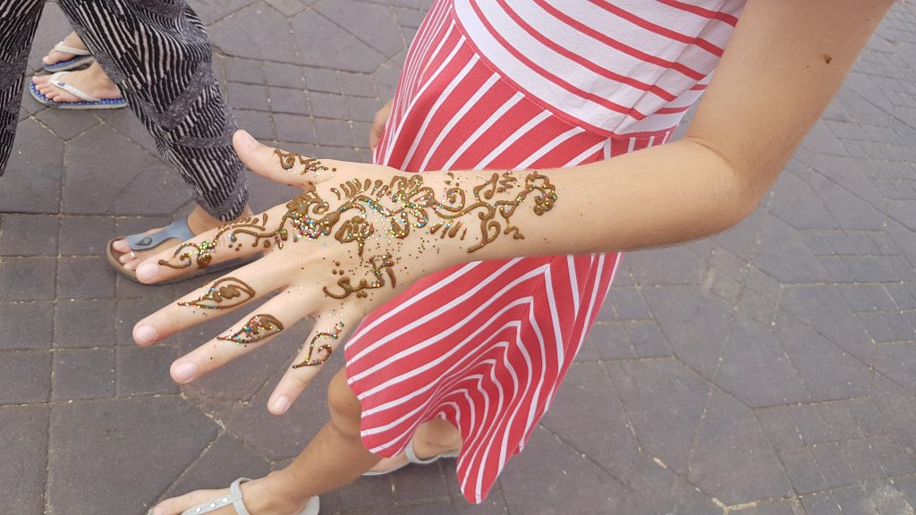Didn't ask for and didn't want this henna tattoo