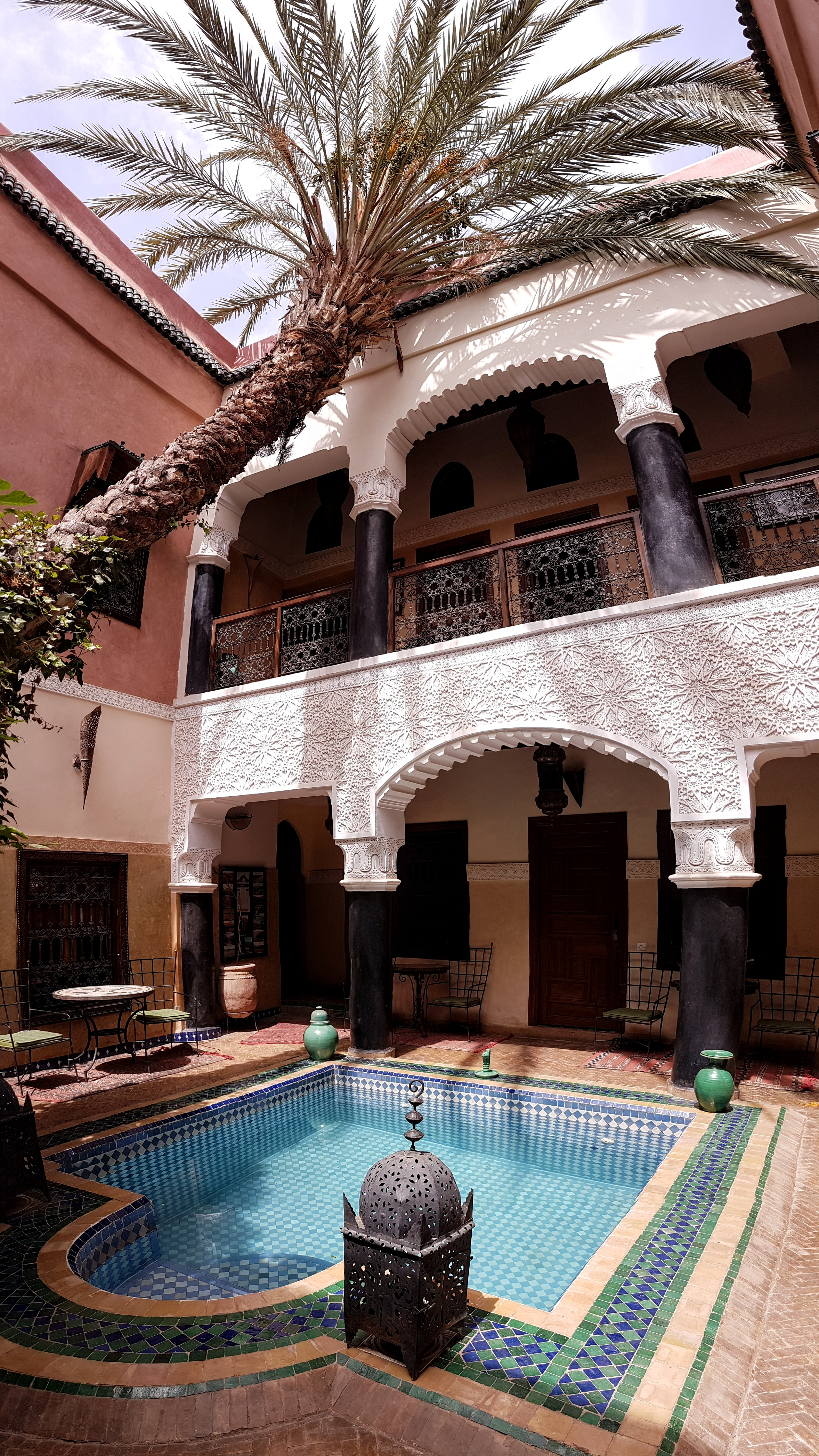 Our luxurious looking Moroccan riad