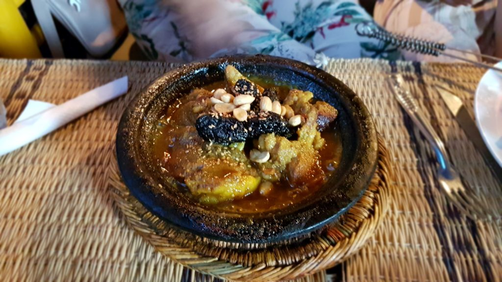 Lamb and prune tajine