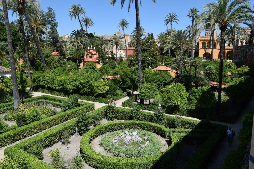 The gardens of the Real Alcazar