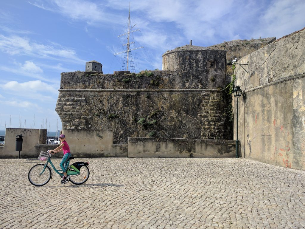 Cycling around Cascais