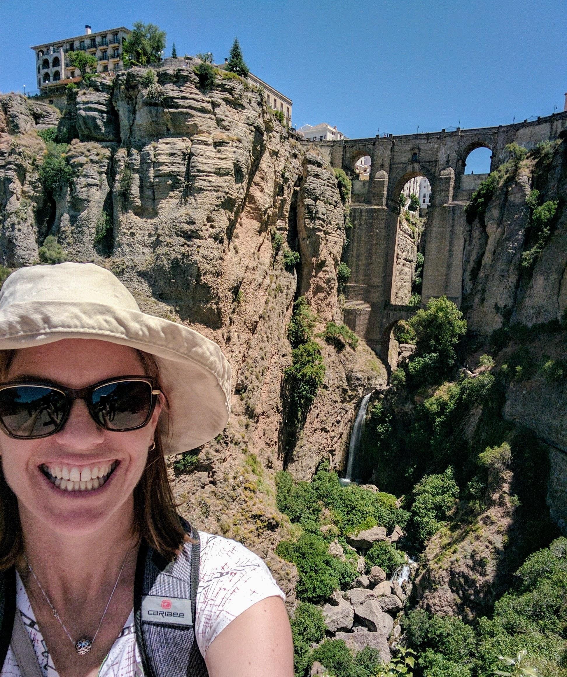 The new bridge of Ronda