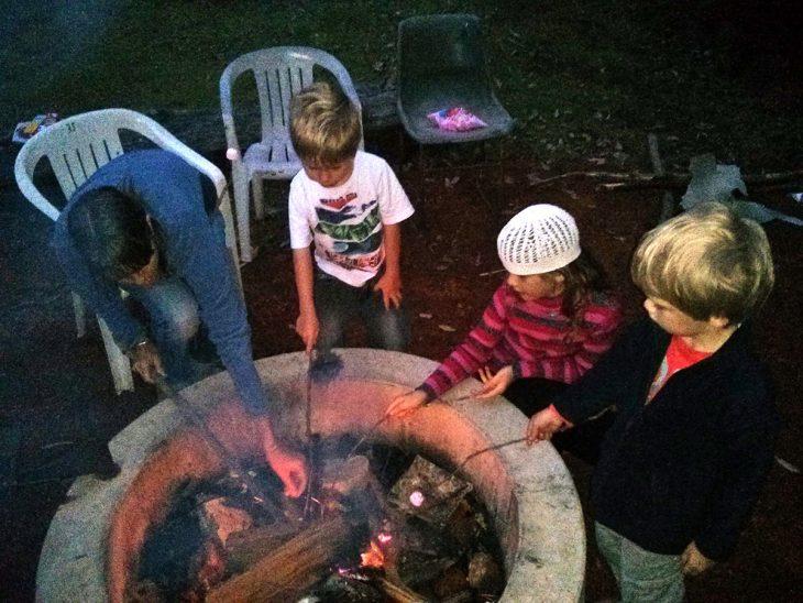 Campfire Cookinbg
