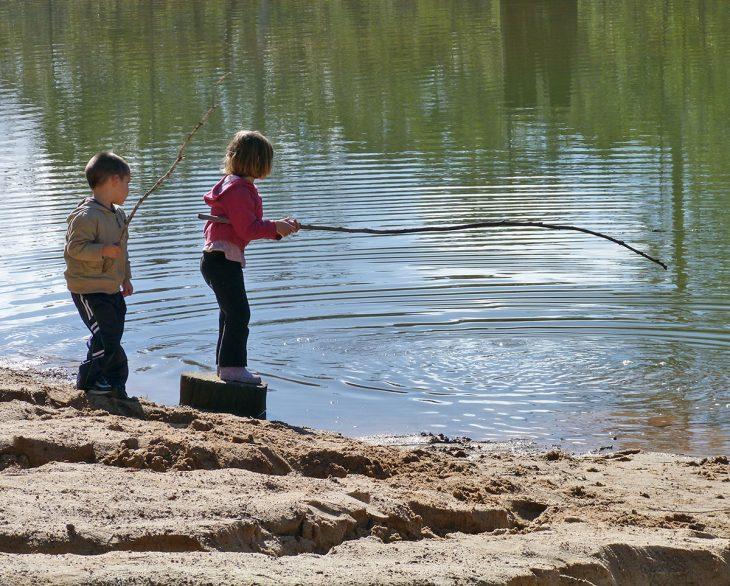 Fishing in the Dam