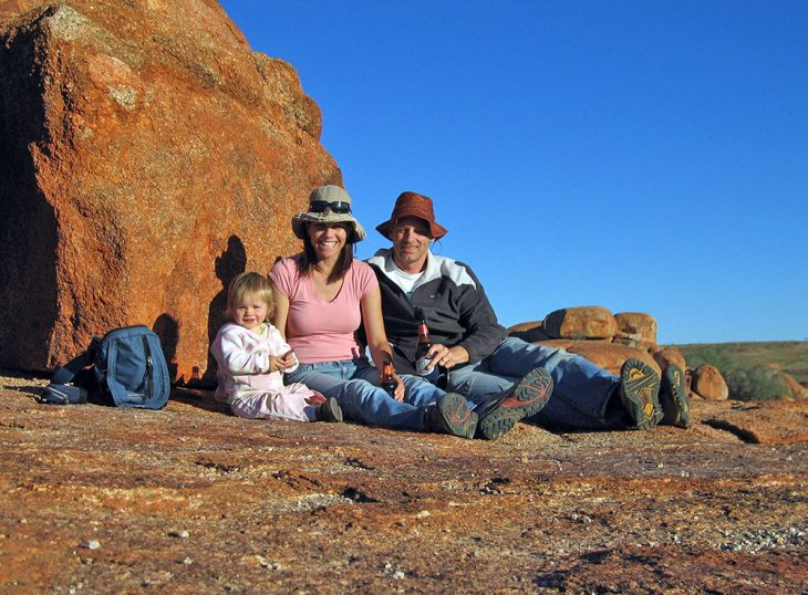 Devils marbles happy hour