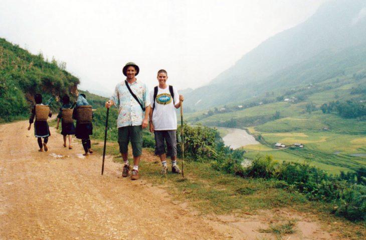 Hiking in Sapa